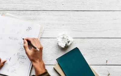 5 tips om schrijven in te zetten als therapie