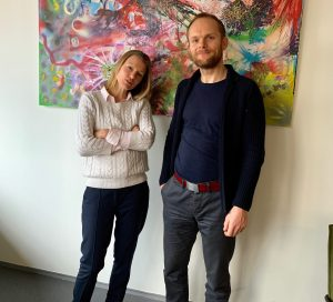 Sjoerd Bijleveld en Irene van Gent