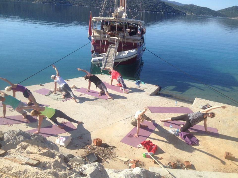 Ga je mee op YogaCruise